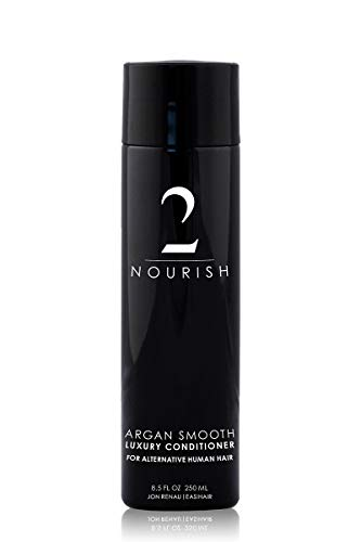 Jon Renau Argan Smooth Luxury Conditioner for Human Hair Wigs, 8.5 Ounce