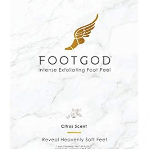 FootGod Exfoliating Foot Peel: Reveal Baby Smooth Feet, Moisturizing Aloe Gently Helps Peel Dead Skin, Eliminate Calluses with Luxury Skincare Technology