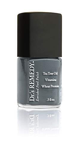 Dr.'s Remedy Enriched Non Toxic Premium Nail Polish Stability Steel 0.5 fl. oz.