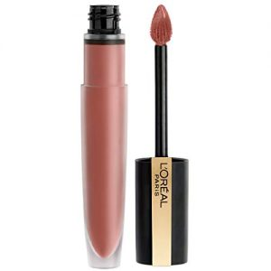 L'Oréal Paris Makeup Rouge Signature Matte Lip Stain, Weightless, High Pigment Lasting Color, I Create, 0.23 oz.