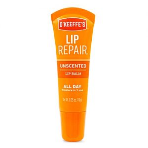 O'Keeffe's Unscented Lip Repair Lip Balm.35 Ounce Tube