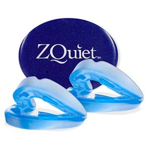 ZQUIET Original Anti-Snoring Mouthpiece Solution, 2-Size Comfort System Starter Kit - Made in USA & FDA Cleared, Natural Sleep Aid Device, Dentist Designed Oral Appliance