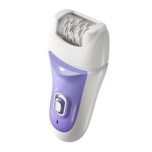 Remington Smooth and Silky Deluxe Rechargeable Epilator, Purple, EP7030E
