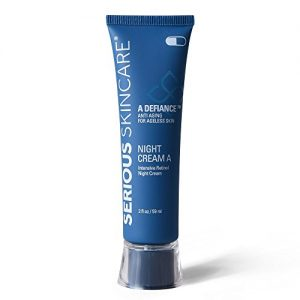 Serious Skincare Defiance A Intensive Retinol Night Cream, 2 Ounce