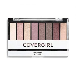 COVERGIRL truNAKED Eyeshadow Palette, Roses 815, 0.23 ounce (Packaging May Vary), 1 Count