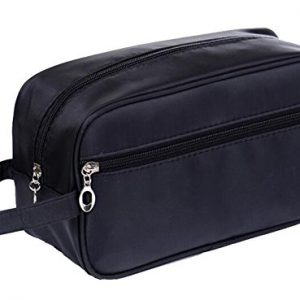 HOYOFO Travel Toiletry Bag for Men and Women, Black