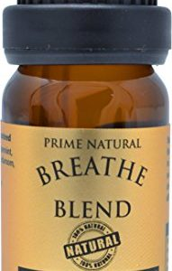 Breathe Essential Oil Blend 10ml - Natural Pure Undiluted Therapeutic Grade for Aromatherapy, Scents & Diffuser - Sinus Relief, Congestion, Cold, Cough, Headache, Respiratory Problems