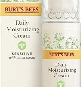 Burt's Bees Daily Face Moisturizing Cream, Sensitive, 1.8 Oz