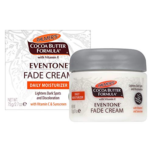 Palmer's Cocoa Butter Formula Eventone Fade Cream Daily Moisturizer for Dark Spots & Discoloration | 2.7 Ounces
