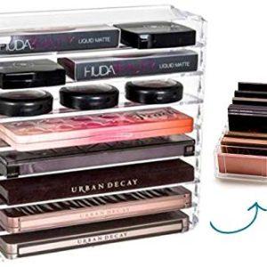 FAJ Palette Acrylic Makeup Organizer (8-Tier Oganizer)