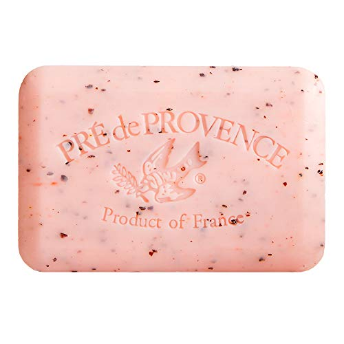 Pre de Provence Artisanal French Soap Bar Enriched with Shea Butter, Juicy Pomegranate, 250 Gram