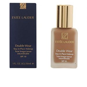 Estee Lauder Double Wear Stay-in-Place Makeup | 24-Hour Wear, Flawless, Natural, Matte Foundation for All Skin Types | Waterproof and SPF 10 | Shade: 3C2 Pebble - Cool / Rosy Undertone | 1 oz