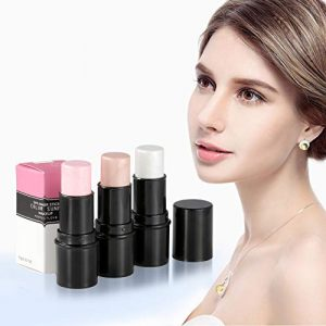 CCbeauty Illuminator Face Highlighter Makeup Sticks Whitening Cream Shimmer Stick Powder Foundation Stick (3pcs Highlighter)