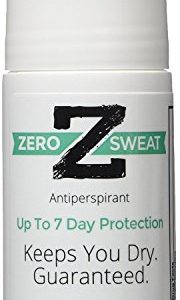 ZeroSweat Antiperspirant Deodorant | Clinical Strength Hyperhidrosis Treatment - Reduces Armpit Sweat,1 Count