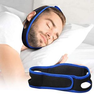 Anti Snoring Chin Strap - Snore Stopper Devices for a Natural Snore Relief - Snore Solution for Men and Women - Adjustable Stop Snoring Chin Strap Perfect Solution for a Good Night