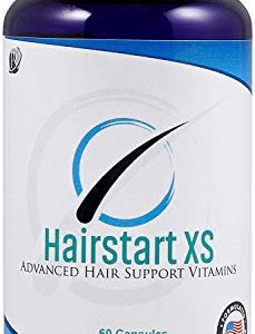 Hairstart XS: Powerful Natural Hair Growth Vitamins, Stops Hair Loss, Balding, Thinning. Promotes Hair Regrowth, All Hair Types, Men and Women, 30 Day Supply