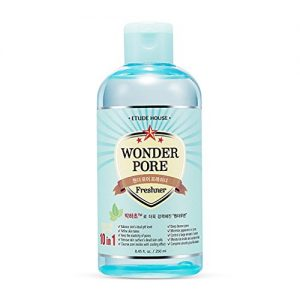 ETUDE HOUSE Wonder Pore Freshner 8.45 fl.oz. (250ml) - Pore Care Astringent with Peppermint Extract, Deep Cleansing, Sebum Control, pH4.5 Care, Makes Skin Pure
