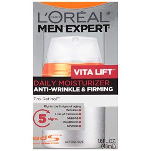 L'Oreal Paris Skincare Men Expert VitaLift Anti-Wrinkle & Firming Face Moisturizer with Pro-Retinol 1.6 fl. oz.