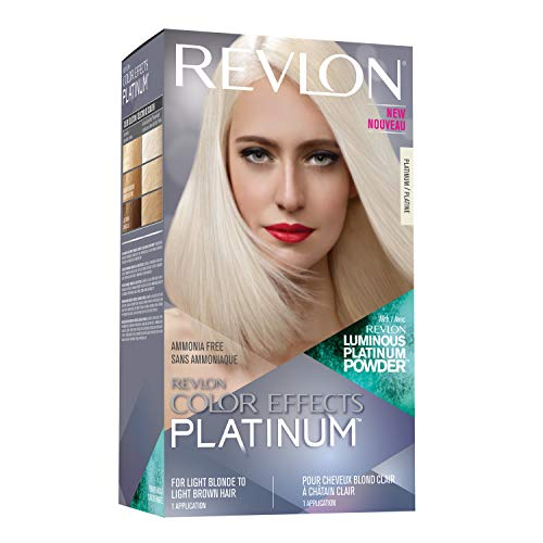 Revlon Color Effects, Permanent Platinum Blonde Hair Dye with nourishing Keratin & Jojoba Seed Oil, Ammonia Free