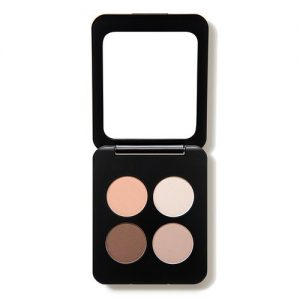 Youngblood Clean Luxury Cosmetics Natural Pressed Mineral Quad Eyeshadow, City Chic | Pigmented Quad Matte and Shimmer Eyeshadow Palette Compact | Cruelty Free, Paraben Free, Gluten-free