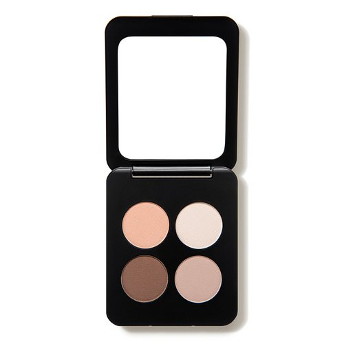 Youngblood Clean Luxury Cosmetics Natural Pressed Mineral Quad Eyeshadow, City Chic   Pigmented Quad Matte and Shimmer Eyeshadow Palette Compact   Cruelty Free, Paraben Free, Gluten-free