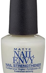 OPI Nail Strengthener, Matte Finish Nail Envy Nail Strengthener Treatment, 0.5 Fl Oz
