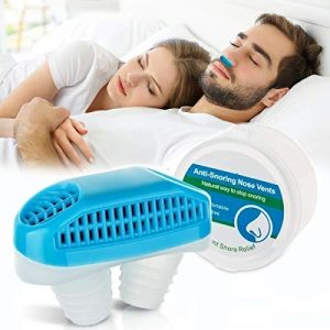 Anti Snoring Nose Vents Plugs, Anti Snoring Devices, Stop Snoring Solution Snore Stopper Sleep Аid Device Solution for Comfortable Sleeping Snore Reducing Man and Women