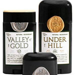 Misc. Goods Co. Natural Deodorant (1 Underhill and 1 Valley of Gold)