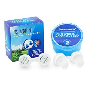 Anti Snoring Devices, Snoring Solution Snoring Aids Snore Stopper Reducing Snoring Nasal Dilator Nose Vents Plugs Clip Stop Air Purifier Sleeping Aid Device for Ease Breathing
