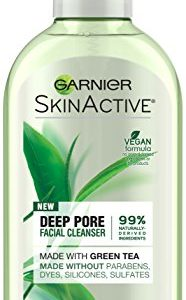 Garnier SkinActive Face Wash with Green Tea, Oily Skin, 6.7 fl. oz.