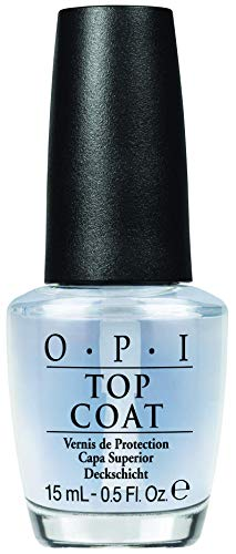 OPI Nail Polish Top Coat, Protective High-Gloss Shine, 0.5 Fl Oz
