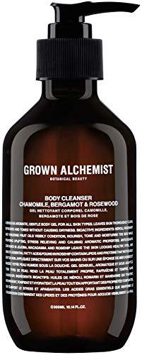 Grown Alchemist Body Cleanser - Chamomile, Bergamot & Rosewood - Gel Body Wash Made with Organic Ingredients (300ml / 10.14oz)