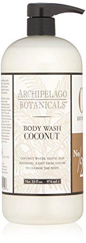 Archipelago Coconut Body Wash, 33 Fl Oz