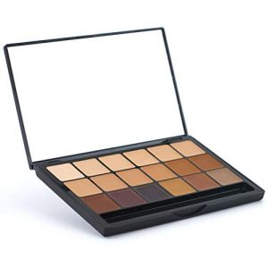 Graftobian Neutral HD Glamour Creme Foundation Super Palette - 18 High Definition Cream Makeup Shades