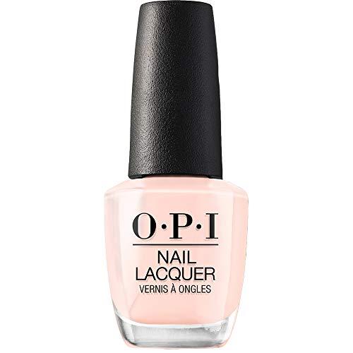 OPI Nail Polish, Nail Lacquer, Bubble Bath, Neutral Pink Nail Polish, 0.5 Fl Oz