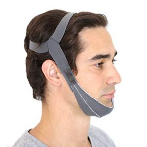 Best in Rest Premium Chin Strap, Adjustable Effective Anti Snoring Sleep Aid Solution, Reduce Snoring and CPAP Mask Leak, for Men and Women.