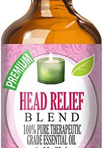 Head Relief Blend Essential Oil - 100% Pure Therapeutic Grade Head Relief Blend Oil - 60ml