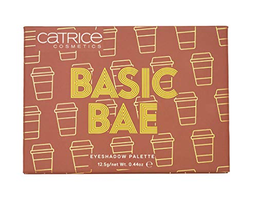 Catrice   Basic Bae Eyeshadow Palette   12 Longlasting, Highly Pigmented & Buildable Shades   Vegan   Paraben & Cruelty-free