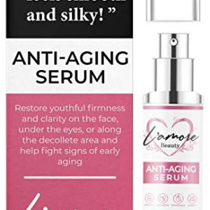 L'amore Beauty Anti-Aging Serum for Women (15 mL) Under Eye Treatment and Facial Skin Care | Face Cream For Firm, Toned, Bright Looking Skin | Reduces Age Spots, Fine Lines, Wrinkles | Made in USA