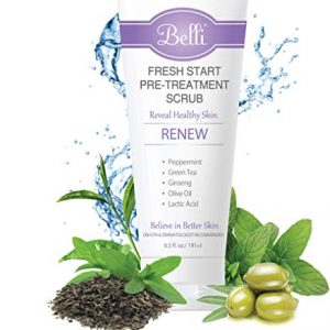 Belli Fresh Start Pre-Treatment Scrub – Reveals Healthy Skin – OB/GYN and Dermatologist Recommended – 6.5 oz.