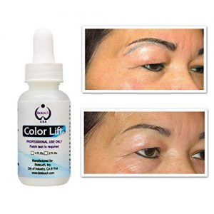 BioTouch Color Lift Permanent Makeup Supplies Microblading Supplies Lighten Remove Unwanted Pigment Color Cosmetic Tattoo Solution 1 oz
