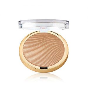 Milani Strobelight Instant Glow Powder - Sunglow (0.3 Ounce) Vegan, Cruelty-Free Face Highlighter - Shape, Contour & Highlight Features with Shimmer Shades