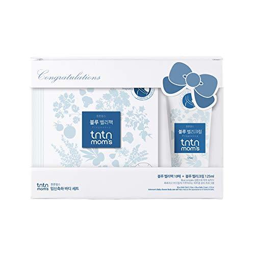 TNTN MOM'S - Belly Care set for pregnancy - Stretch mark & Scar removal | Daily Moisturizer | Shea butter + Beta Glucan | All Safe ingredients | Korean maternity skin care | 30.3oz(10sheetsX1cream)