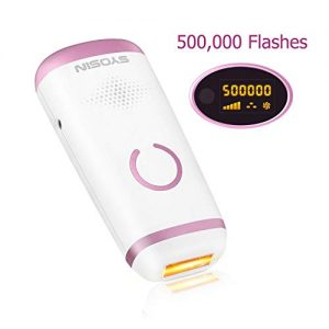 SYOSIN 500,000 Flash IPL Hair Removal System, Professional 2-in-1 Hair Removal Device - Hair Removal and Skin Regeneration, at Home Used or travel for women's body/facial/bikini/armpit
