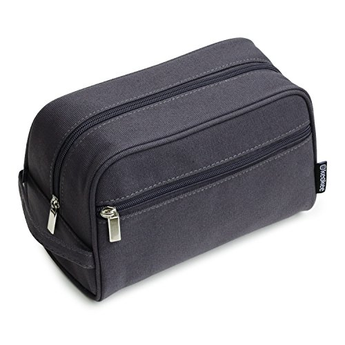 Keokee Canvas Toiletry Shaving Bag for Men | Dopp Kit Travel Organizer