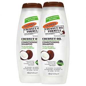 Palmer's Coconut Oil Formula Conditioning Shampoo for Dry, Damaged or Color Treated Hair | 13.5 Ounces (Pack of 2)