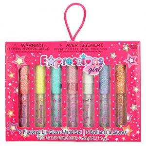 Expressions Girl / 7-piece Flavored Lip Gloss Set