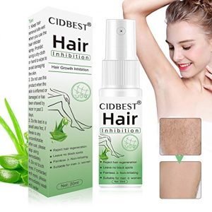 Hair Inhibitor, Hair Stop Growth Spray, Hair Removal Spray, Painless Hair Removal Inhibitor, for Face, Arm, Leg, Armpit, Permanent Hair Removal
