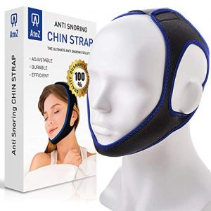 Anti Snoring Devices Chin Strap - Snore Stopper Strap - Anti snoring Solution - Ajustable Anti Snoring Chin Strap for Men and Women
