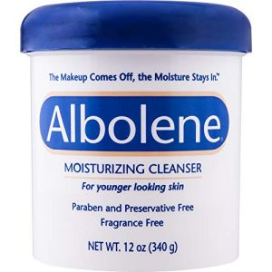 Albolene Moisturizing Cleanser | 3-in-1 Skin Care Product: Makeup Remover, Facial Cleanser and Moisturizer | No Soap or Water Needed | 12 Ounces | Pack of 1